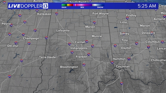 Indianapolis Live Doppler 13 Radar