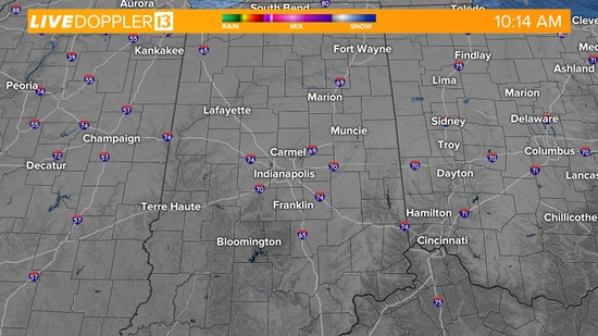 Indianapolis Live Doppler Radar - Weather - 13 WTHR Indianapolis